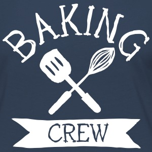 baking crew mixer Long Sleeve Shirts - Women's Premium Longsleeve Shirt
