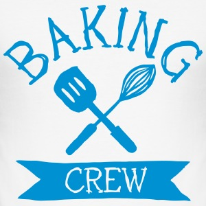 baking crew mixer T-Shirts - Men's Slim Fit T-Shirt
