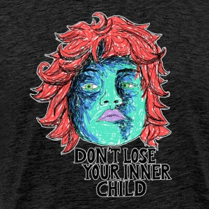 dont lose your innerchild T-Shirts - Männer Premium T-Shirt