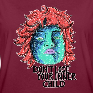 dont lose your innerchild T-Shirts - Frauen Oversize T-Shirt