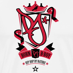 Born B-Boy - Men's Premium T-Shirt