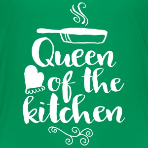 queen of the kitchen T-shirts - Premium-T-shirt barn