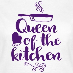 queen of the kitchen T-shirts - Vrouwen T-shirt