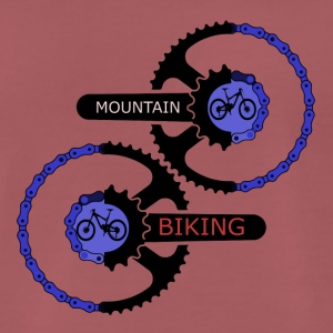 mountain biking gears - MTB LOVE - Männer Premium T-Shirt