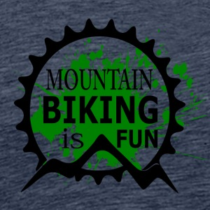 Mountain Biking is Fun - MTB Love - Männer Premium T-Shirt