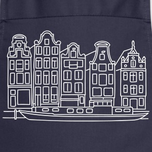 Amsterdam Canal houses  Aprons - Cooking Apron