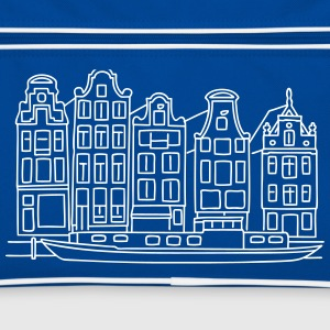 Amsterdam Canal houses Bags & Backpacks - Retro Bag
