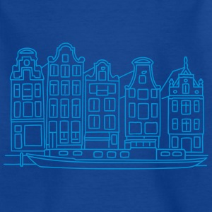 Amsterdam Canal houses Shirts - Kids' T-Shirt