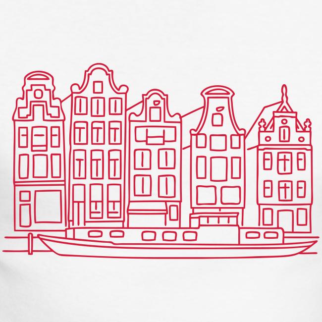 Amsterdam Grachtenhäuser