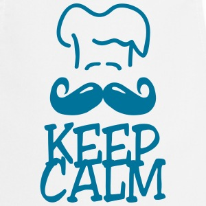 keep calm chef Delantales - Delantal de cocina