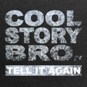 Cool Story Bro. - Beanie in jersey