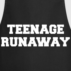 Teenage Runaway Funny Quote  Aprons - Cooking Apron