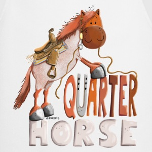 Happy Quarter Horse  Aprons - Cooking Apron