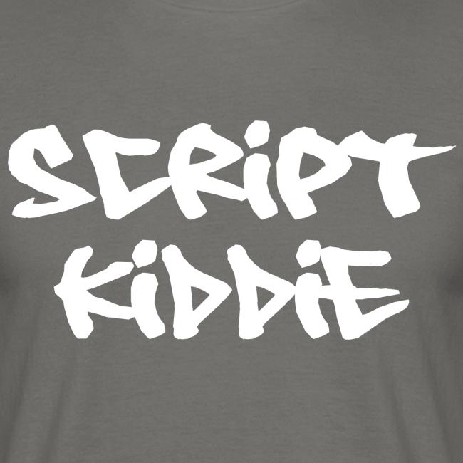 """T-Shirt mit Aufdruck """"Script Kiddie"""""""