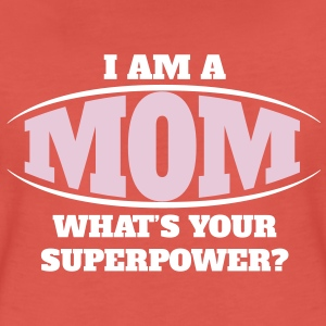 Mom Superpower T-Shirts - Women's Premium T-Shirt