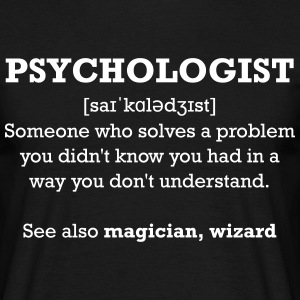 Psychologist- wizard T-Shirts - Men's T-Shirt