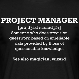 Project manager - wizard T-shirts - Mannen T-shirt