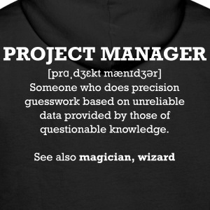Project manager - wizard Pullover & Hoodies - Männer Premium Hoodie