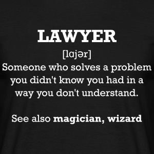 Lawyer - wizard T-Shirts - Männer T-Shirt