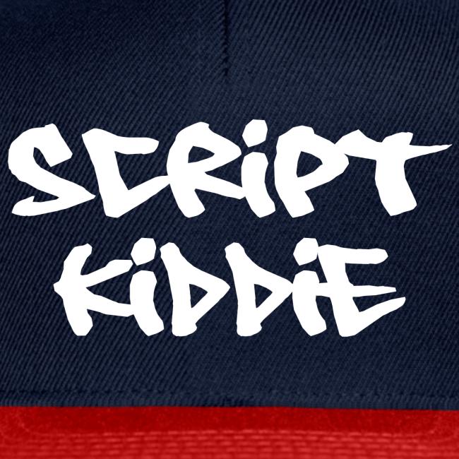 """Cap mit Aufdruck """"Script Kiddie"""""""