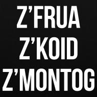 Motiv ~ z'frua z'koid z'Montog