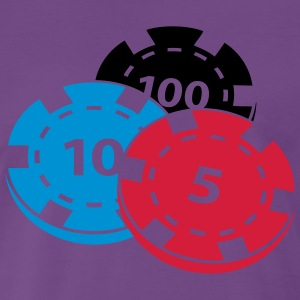 Pokerchips - Männer Premium T-Shirt
