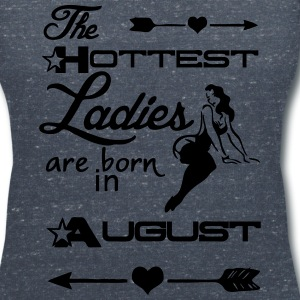 Hottest Lady August T-Shirts - Women's V-Neck T-Shirt