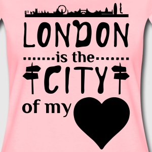 London - City of my Heart  T-Shirts - Women's Premium T-Shirt
