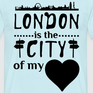 London - City of my Heart  T-Shirts - Männer T-Shirt