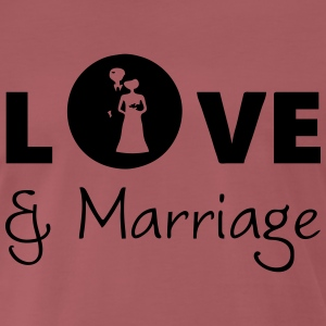 Love & Marriage T-Shirts - Männer Premium T-Shirt
