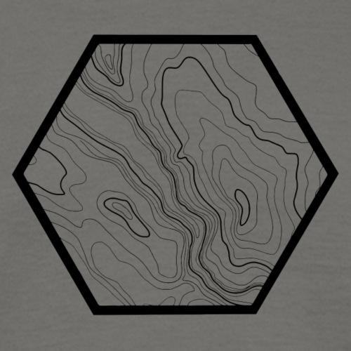 geografic hexagon black
