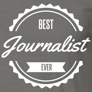 best journalist Tee shirts - T-shirt Homme