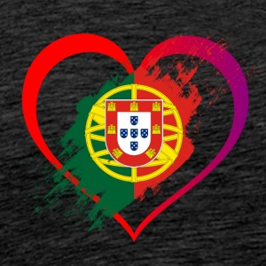 I LOVE PORTUGAL COLLECTION - Männer Premium T-Shirt