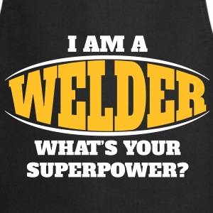 Welder Superpower  Aprons - Cooking Apron