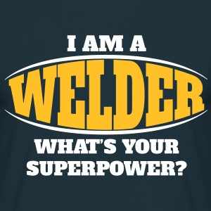 Welder Superpower T-Shirts - Men's T-Shirt