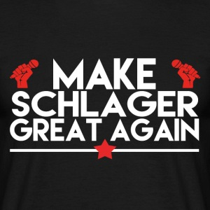 MAKE SCHLAGER GREAT AGAIN T-Shirts - Männer T-Shirt