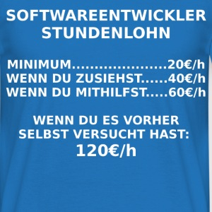 softwareentwickler T-Shirts - Männer T-Shirt