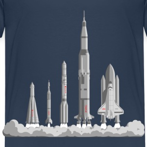The Space Race Shirts - Kids' Premium T-Shirt
