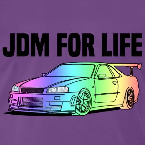 JDM for Life Colourful T-shirts - Herre premium T-shirt