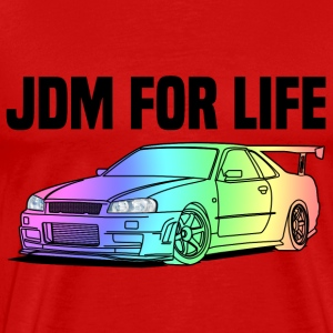 JDM for Life Colourful T-shirts - Premium-T-shirt herr