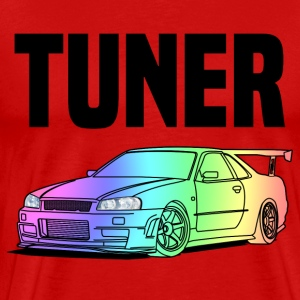 Tuner Car Colourful T-Shirts - Männer Premium T-Shirt