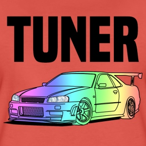 Tuner Car Colourful T-shirts - Premium-T-shirt dam