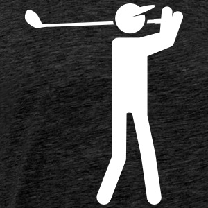 golf T-shirts - Mannen Premium T-shirt