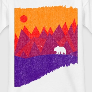 Hear the mountains' call - Kids' T-Shirt