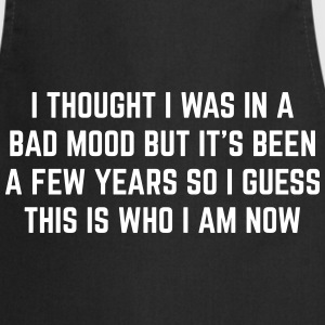 Bad Mood Funny Quote  Aprons - Cooking Apron