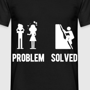 Kletter Shirt Problem Solved - Männer T-Shirt