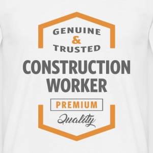 Construction Worker T-shirt - Men's T-Shirt