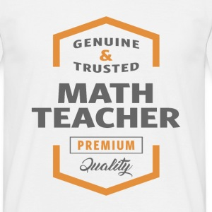 Math Teacher T-shirt - Men's T-Shirt