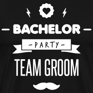 Team GROOM Tee shirts - T-shirt Premium Homme