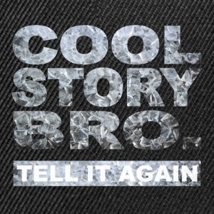 Cool Story Bro. - Contrast Snapback Cap